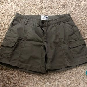 North face women's shorts. 8 long